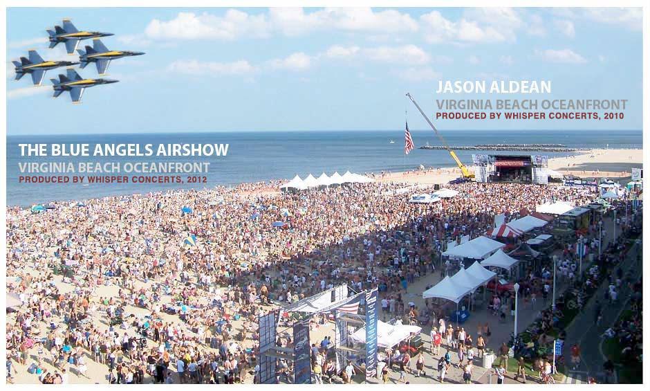 Virginia Beach Concerts August