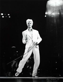 David Bowie - August 24 & 25, 1983. Produced by Whisper Concerts Inc.